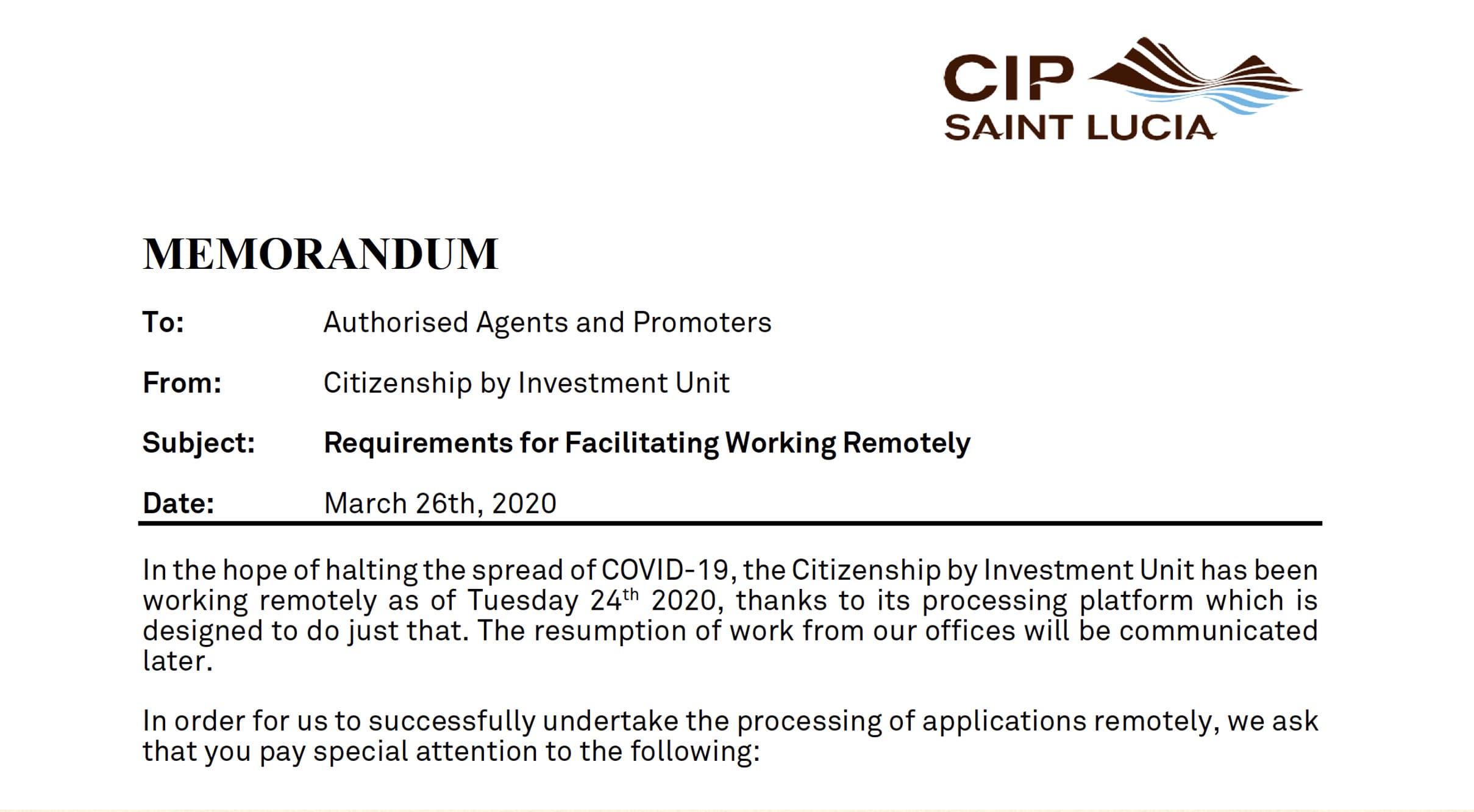 гражданство Сент-Люсии