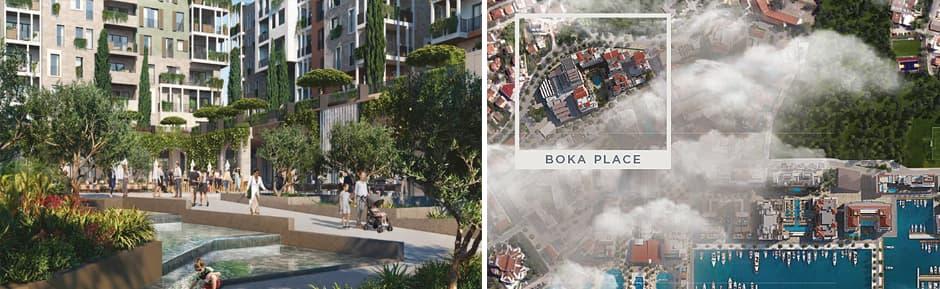 Boka Place в Porto Montenegro